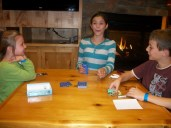 Nightly card game.