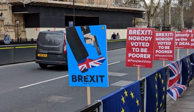 Brexit tension
