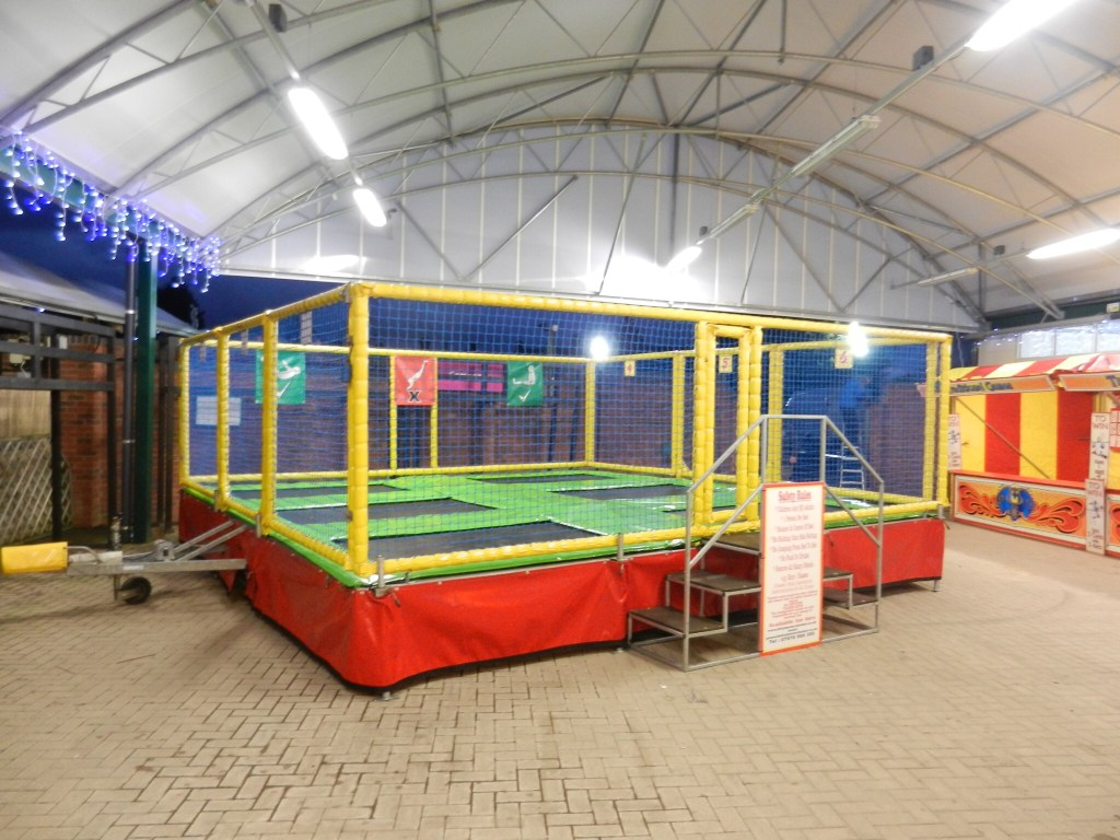 Standard 6 bed trampolines