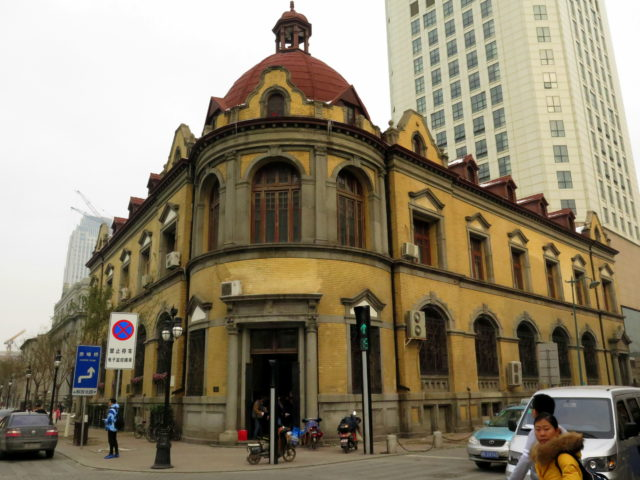 Former Russo-Chinese Bank building, 1896, built in a Russian style. Tianjin, China, Asia.