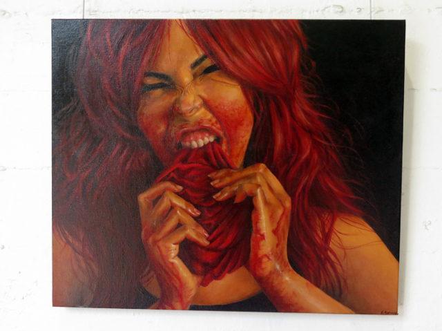 """Eat like you mean it"", Erika Gomez Henao. Yum! San Francisco, United States, North America."