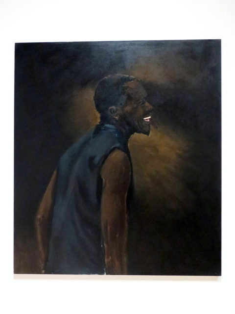 """""""Appreciation of the Inches"""" by Lynette Yiadom-Boakye, 2013. Lynette favors muted colors. SFMOMA, San Francisco, United States, North America."""