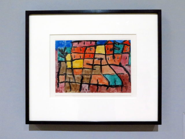 Untitled work by Paul Klee, 1940. As soon as I saw this, I suspected it was Klee. I became familiar with his work at the fabulous Museum Berggruen in Berlin. SFMOMA, San Francisco, United States, North America.