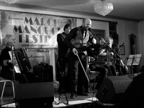 One of the best gigs of 2015 at the March Manouche Festival