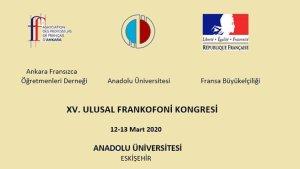 15. Ulusal Frankofoni Kongresi başlıyor