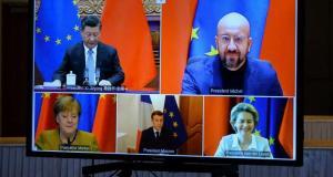 AB, ekonomik ilişkilerini yeniden şekillendirmeye çalıştığı Çin'le yatırım anlaşmasına vardı