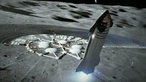 ABD Mars'a gidiş için Ay'da kalıcı üs kuracak