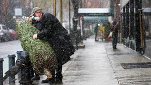 ABD'nin doğu yakası dönemin birinci kar fırtınasına hazırlanıyor