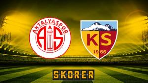 CANLI ANLATIM   Antalyaspor – Kayserispor
