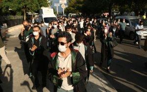 Diyarbakır'da, avukatlardan 'çoklu baro' protestosu: 'Bütün avukatların onur mücadelesidir'