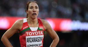 Dünya şampiyonu Belaruslu atlet Arzamasova'ya 4 yıl men cezası
