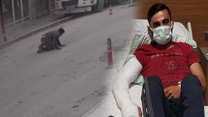 Elazığ'daki depremde pencereden atlayan genç konuştu!