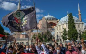 Erdoğan: Ayasofya'nın statüsüyle ilgili nihai karar mercii Türk milletidir, diğer ülkelere  ancak saygı göstermek düşer