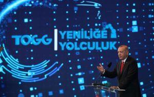 Erdoğan: Devrim otomobilini müzeye mahkum edenler, devrim otomobilinin yollarımızda kullanılmasına mani olamayacaktır