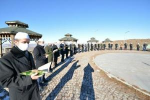 Erzurum'un 500 yıllık kadim geleneği 'Binbir Hatim' başladı