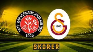 Fatih Karagümrük-Galatasaray maçı bu akşam saat kaçta hangi kanalda? Süper Lig'de 13. haftanın perdesi açılıyor