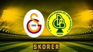 Galatasaray-Darıca Gençlerbirliği maçında ilk 11'ler belli oldu