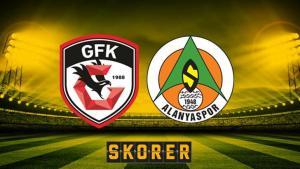 Gaziantep FK-Alanyaspor (CANLI)