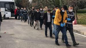 Gaziantep'teki trafo hırsızlığı operasyonunda 10 tutuklama
