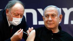 İsrail'de birinci koronavirüs aşısı canlı yayında Netanyahu'ya yapıldı