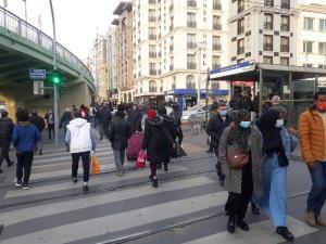 İstanbul'da kısıtlama öncesi yine trafik yoğunluğu