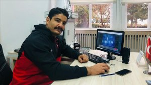 Milli güreşçi Taha Akgül, Yılın Fotoğrafları oylamasına katıldı