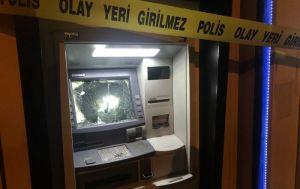 Miras yüzünden babasına kızan kadın, çekiçle ATM'leri parçaladı