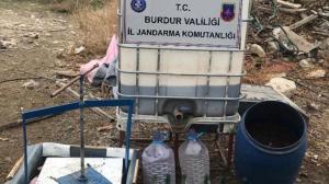 Operasyonlar hız kesmiyor! Burdur'da 507 litre kaçak içki yakalandı