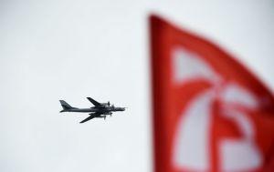 Rusya: ABD'nin F-22 uçakları, ABD sınırı yakınında uçan Rus Tu-95MS stratejik bombardıman uçaklarına refakat etti