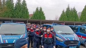 Sakarya'da uyuşturucu operasyonunda yakalanan 11 şüpheli adliyede