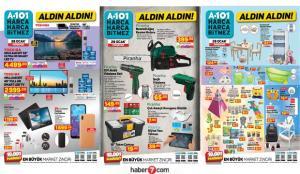 28 Ocak A101 aktüel kataloğu! Mobilya, elektronik, beyaz eşya, züccaciye ve gıda ürünlerinde..