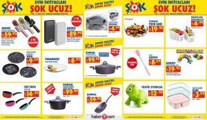 6 Ocak ŞOK aktüel ürünler kataloğu! Züccaciye, elektronik ve tekstil ürünlerinde kampanya!