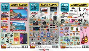 A101 21 Ocak 2021 aktüel kataloğu! Züccaciye, tekstil, elektronik ve spor ürünlerinde…