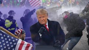 ABD'de son dakika gelişmeleri peş peşe yaşanıyor: Göstericiler Kongre binasını bastı, polis silahını çekti! Darbe yorumları yapılıyor
