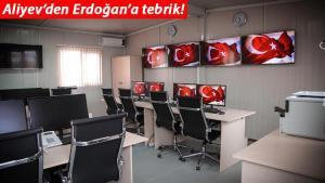 Aliyev'den Erdoğan'a tebrik… Resmen faaliyete başladı!