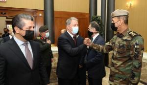 Bakan Akar'dan Irak'ta çok önemli açıklamalar