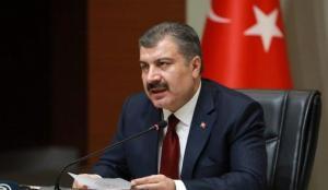 Bakan Koca'dan Temel Karamollaoğlu'na aşı teşekkürü
