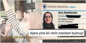 """Başörtülü Öğrenciye """"Vitrin Mankeni"""" Diyen Mehmet Ardıç'a Boğaziçili Buse'den Kapak Gibi Cevap"""