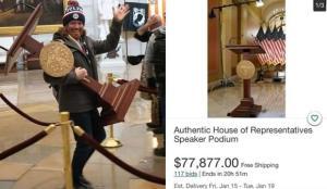 Çaldığı meclis kürsüsünü satılığa çıkardı