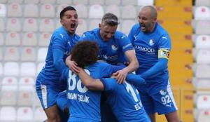 Düşme hattındaki maçta kazanan Erzurumspor
