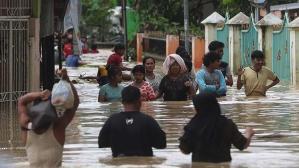 Endonezya'da 4 bin 440 kişi selden etkilendi