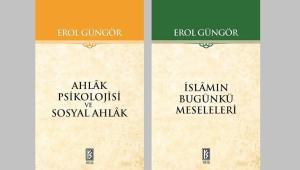 Erol Güngör'den iki kitap daha