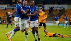 Everton, Wolverhampton deplasmanında kazandı