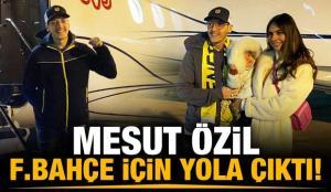 Fenerbahçe paylaştı! Mesut yola çıktı