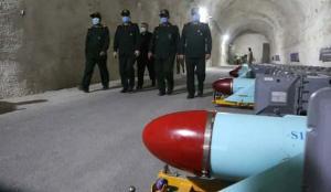 İran yeraltı füze üssünün görüntülerini ilk kez paylaştı
