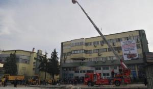 Isparta Belediyesi'ne 43 metre merdivenli itfaiye aracı gönderildi