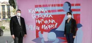 Kadıköy Belediye Başkanı Odabaşı'ndan muhtar Aksu'ya geçmiş olsun ziyareti