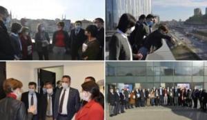 Kaftancıoğlu ve CHP'liler mührü kırıp kaçak yapıya girdi