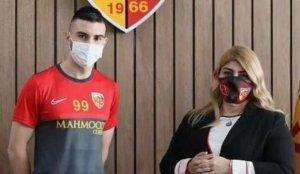 Kayserispor yeni forvetini açıkladı!