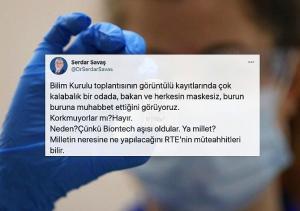 Maskesiz Toplantının Ardından Gündemdeki Soru: AKP'li Yöneticiler Gizlice BioNTech Aşısı mı Yaptırdı?